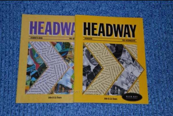 Учебники с 6-11 кл. Headway Pre-intermediate, Gold series, Accelerator