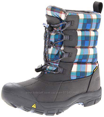 Дитячі чобітки KEEN у хорошому стані Keen loveland boot wp, US 1