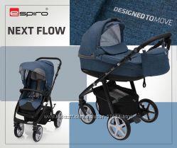 Универсальная коляска Espiro Next Flow 2 в 1