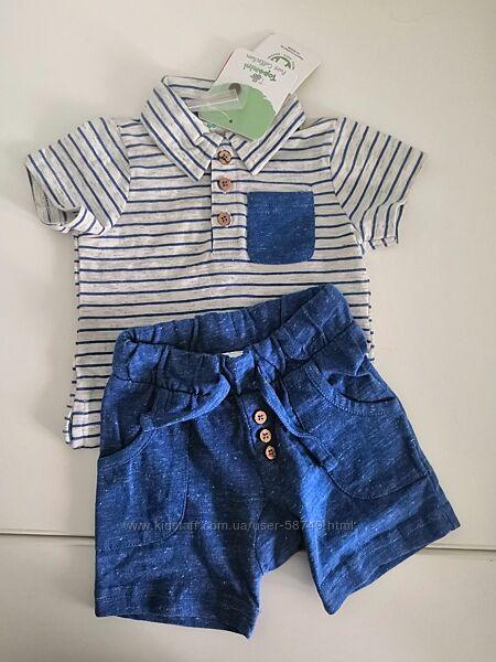 Комплект шорты футболка Topomini