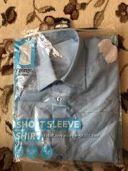 Рубашка школьная George с коротким рукавом