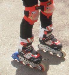 ролики раздвижные explore inline skates 29-32 размер