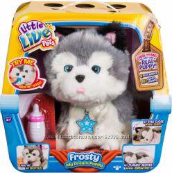 Ласковый щенок Хаски Фрости Moose Little Live Pets