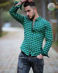 Отличный выбор мужских рубашек производства Турция
