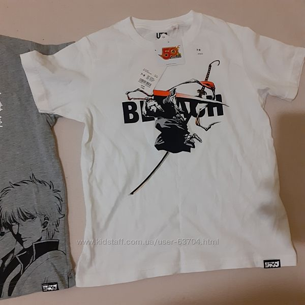 Новая футболка UNIQLO для мальчика