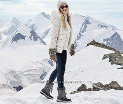 Акция комбинированные леггинсы для модницы от тсм tchibo р-р36, 38, 40 евро