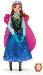 Дисней Кукла Анна Холодное сердце с подвеской Anna Classic Frozen Оригинал