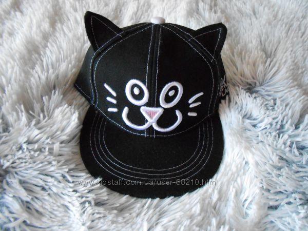 Бейсболка котик