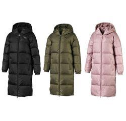 Пухове пальто Puma Longline Down Jacket Оригинал