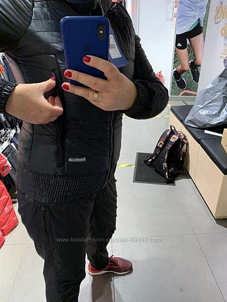 Знижка. Куртка на сінтапоні Reebok. Оригінал xs, S