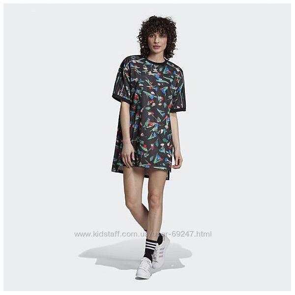 Женское платье adidas FLORAL. Оригінал xs, S, м