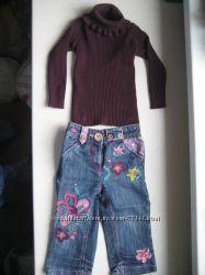 Комплект Некст гольф с джинсами 1, 5-2
