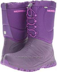 Сапоги ботинки  Merrell Girls Waterproof Snow Boot