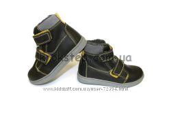Кожаные ботинки зима Потне20 дд степ DD Step Ponte20