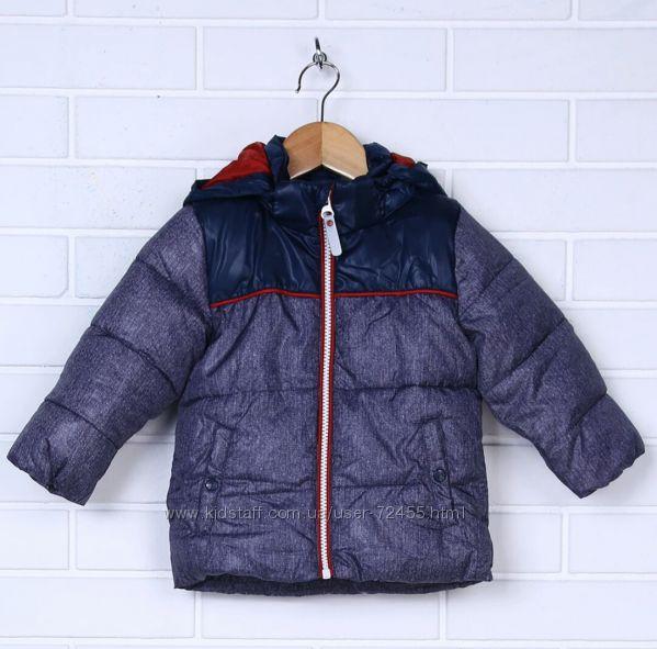 Теплая демисезонная куртка name it 86 см
