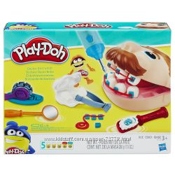 Оригинал Hasbro из США. Мистер Зубастик Play-Doh Плей До стоматолог