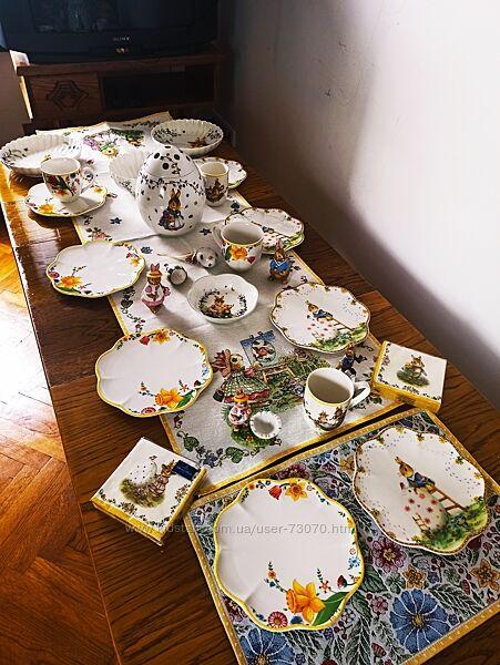 Villeroy &Boch весенний пасхальный декор
