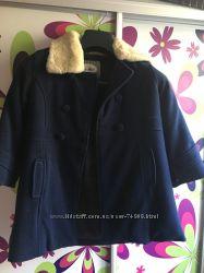 Пальто зимнее кашемир на девочку