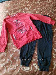 Комплект толстовка  и штанишки, размер - 8 лет