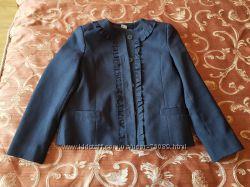 Пиджак школьный, размер 140