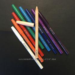 Цветные карандаши, кайалы от Kiko, Италия