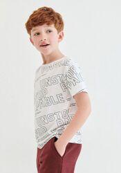 Футболка для мальчика из органического хлопка - модный тренд 2021.