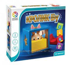 Логическая игра Кролик БУ Smart Games SG 037 UKR Bunny Boo из дерева