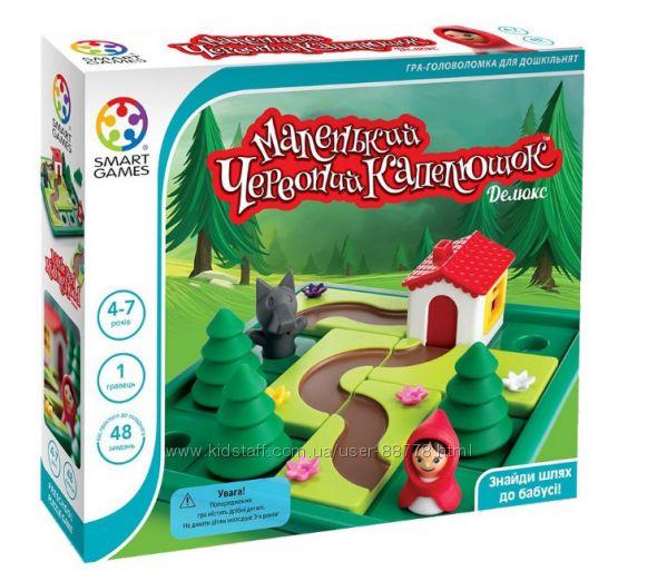 Настольная игра Маленький червоний капелюшок Делюкс Smart Games  SG 021 UKR