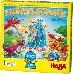 Настольная игра Funkelschatz Сверкающее сокровище 303402 Haba Украина купит