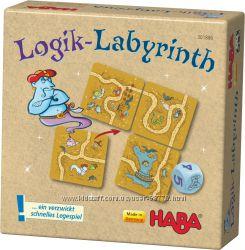 Настольная игра Логический лабиринт Хаба, Logik Labyrinth Haba 301886
