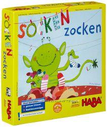 Настольная игра  Socken Zocken от Haba, Найди пару, Носочный монстр Хаба
