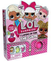 Настольная Игра LOL Surprise  7 уровней веселья Лол сюрприз  оригинал