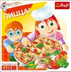 Настольная игра Пицца Трефл Trefl Польша  01039
