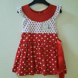 Хлопковые платья, сарафаны для девочки. Размеры 80-128.