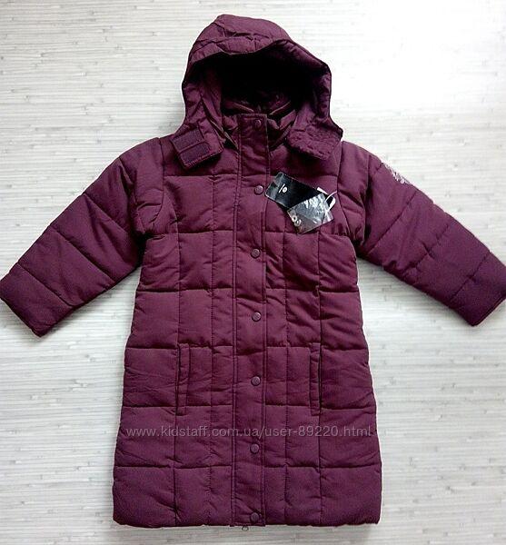 Акция минус 10. р.122 Пальто деми-теплая зима ТМ Palomino C&A