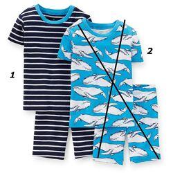 Акция -20. р.7 124-130см Картерс пижама хлопок. Распродажа