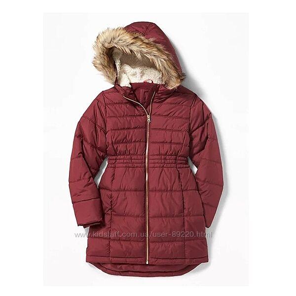 Акция минус 10. р.8 Теплое зимнее пальто - удлиненная куртка ТМ Oldnavy
