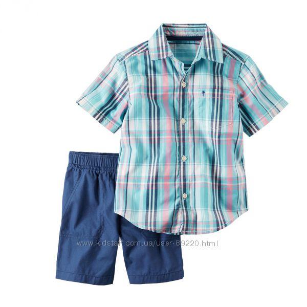 арт.249404 набор рубашка, шорты р.3Т,4Т,5Т