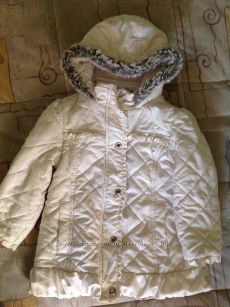 Крутая теплая курточка на принцесску, дешево