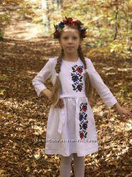 Наші новинки. Вишиті сукні для дівчат 4fb7ad7b52b8c