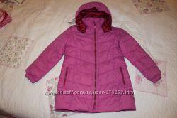 Пальто осеннее для девочки, Mango, рост 128см