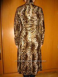 Леопардовое пальто очень красивое обмен