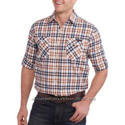 Мужские рубашки-тенниски с Walmarta