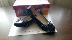 Новые школьные туфли для дочки, размер 38 по стельке 24 см