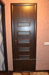 дверное полотно ОМІС цвета венге в упаковке