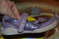 кожаные удобные туфли Фламинго