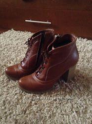 Кожаные ботиночки 36 р-ра
