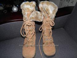 Сапоги-ботиночки на низком ходу Skechers