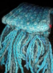 меланжевый шарф Esprit