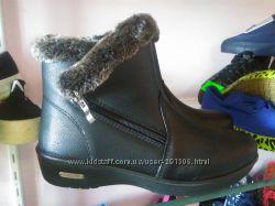 Женские ботинки теплые